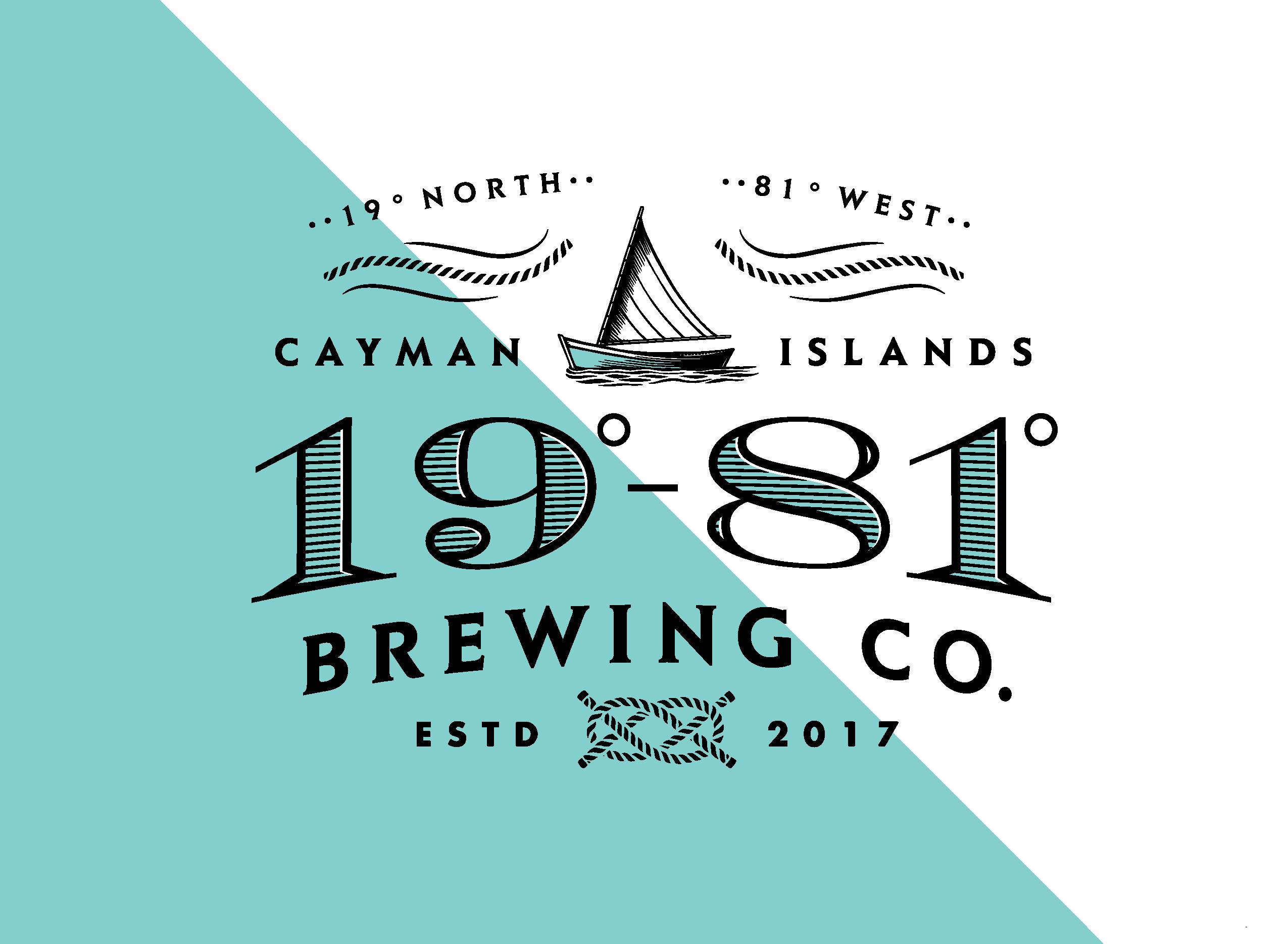 19-81 Brewing Co. logo design
