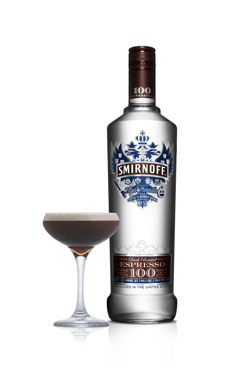 Smirnoff 100 Proof flavored vodka