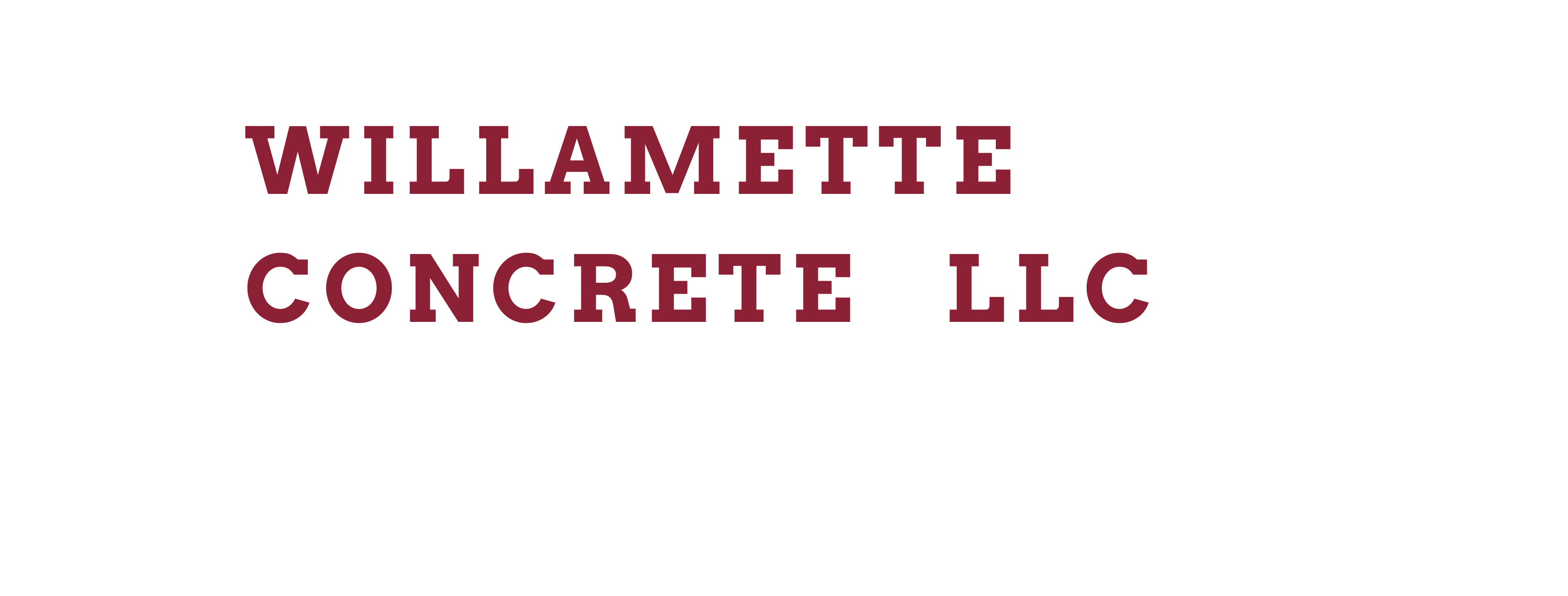 willamette-concrete-llc-header