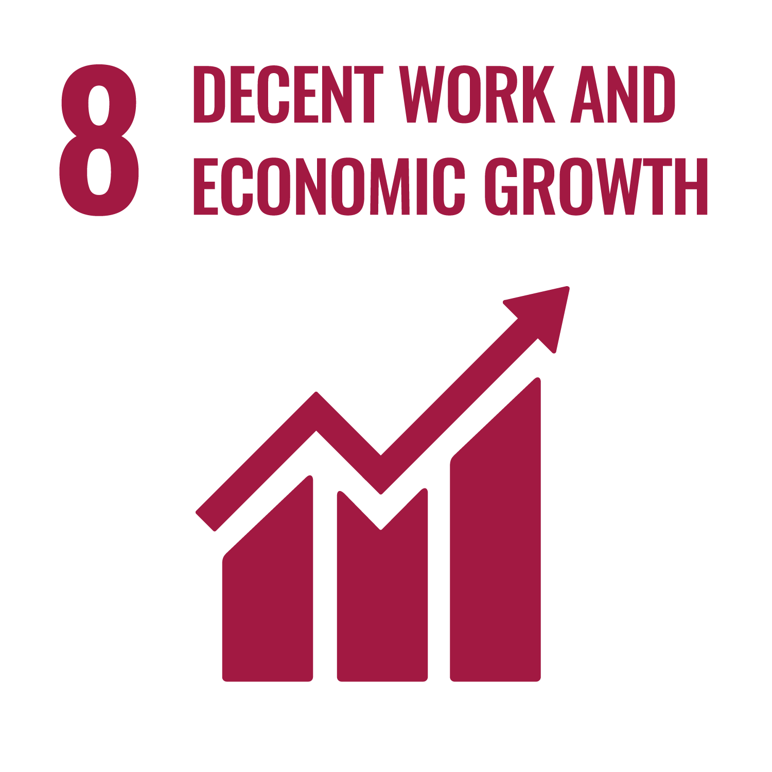 United Nations Sustainable Development Goals - Decent work and economic growth