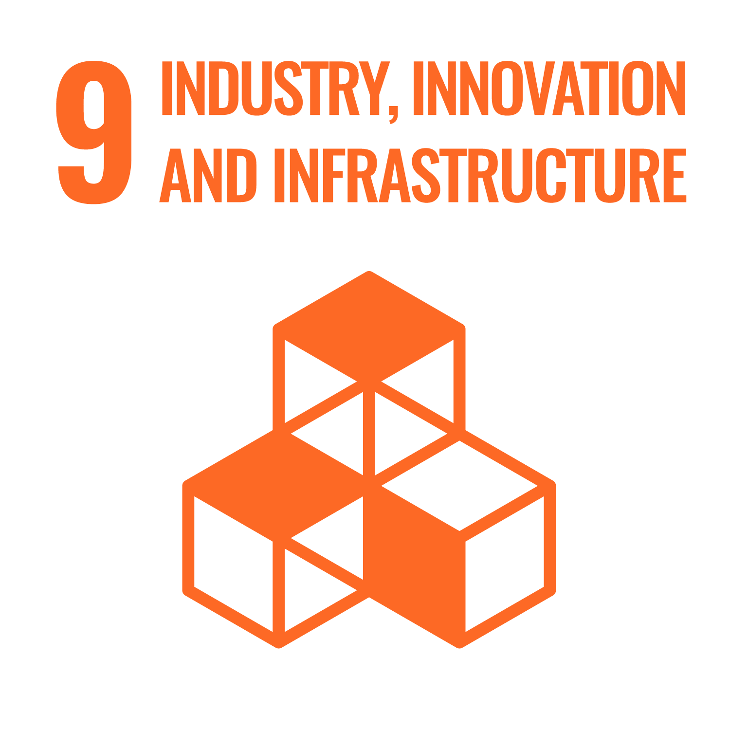 United Nations Sustainable Development Goals - Industry, Innovation and Infrastructure