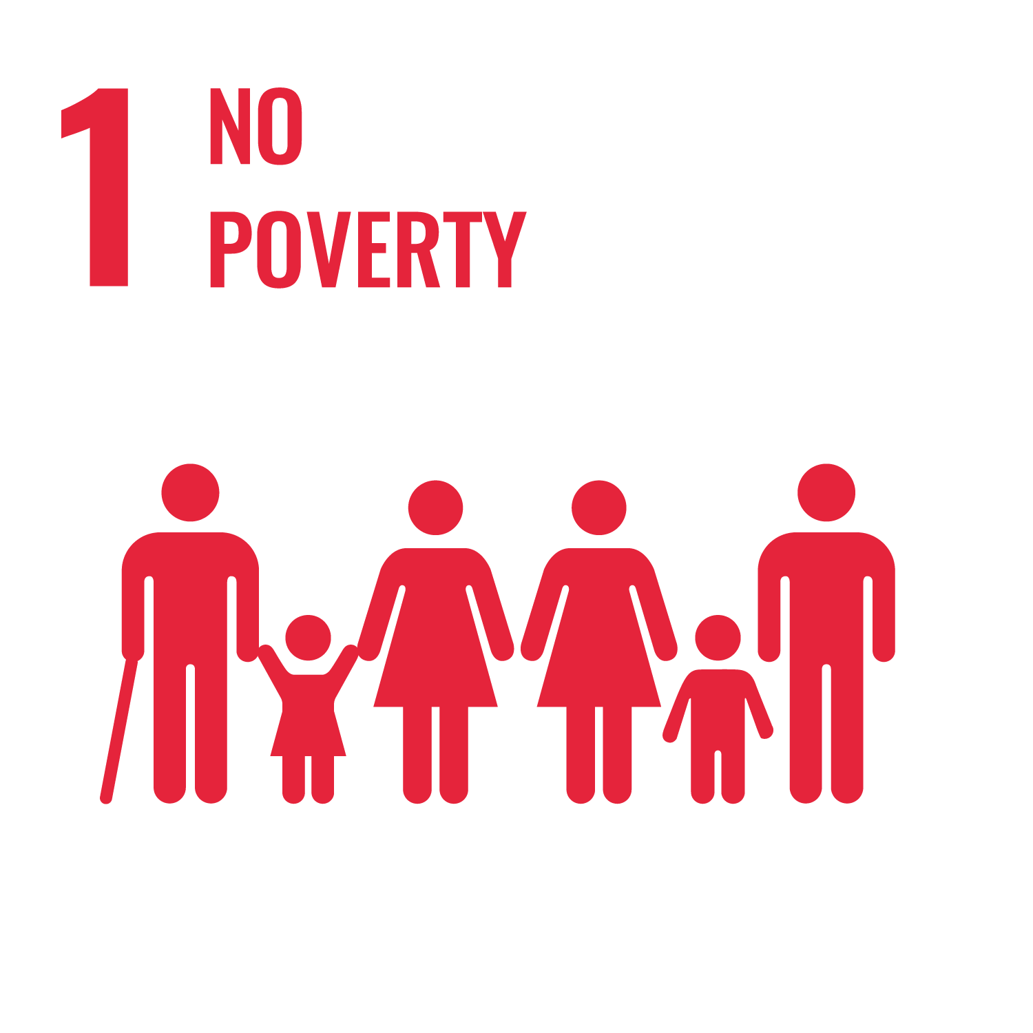 United Nations Sustainable Development Goals - no poverty