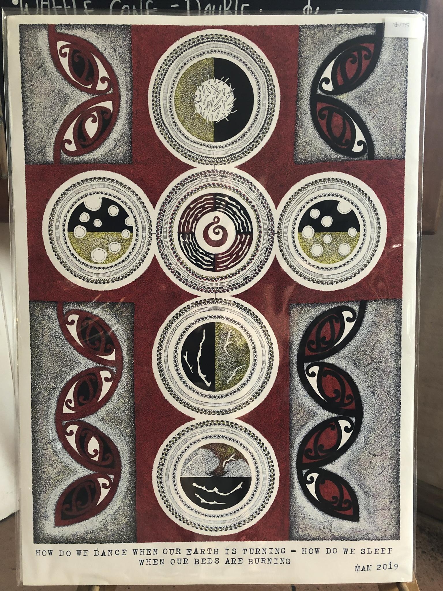 Maori Insprired NZ Art