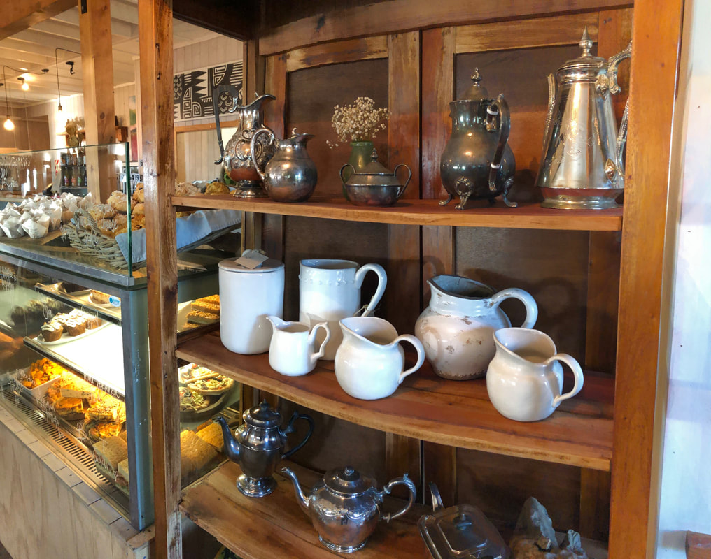 Cabinet of Vintage Cups