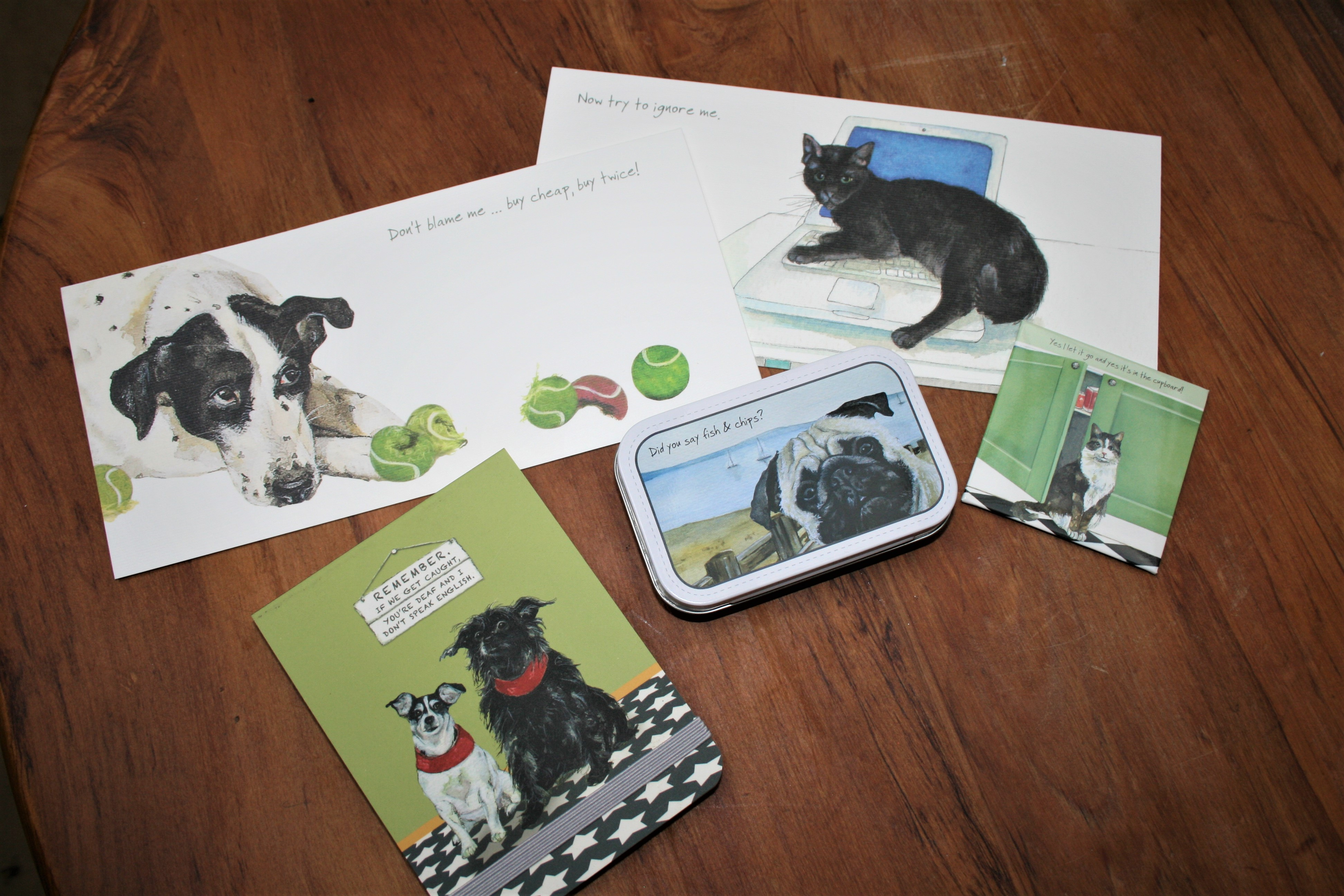 Vintage Animal Gift Cards