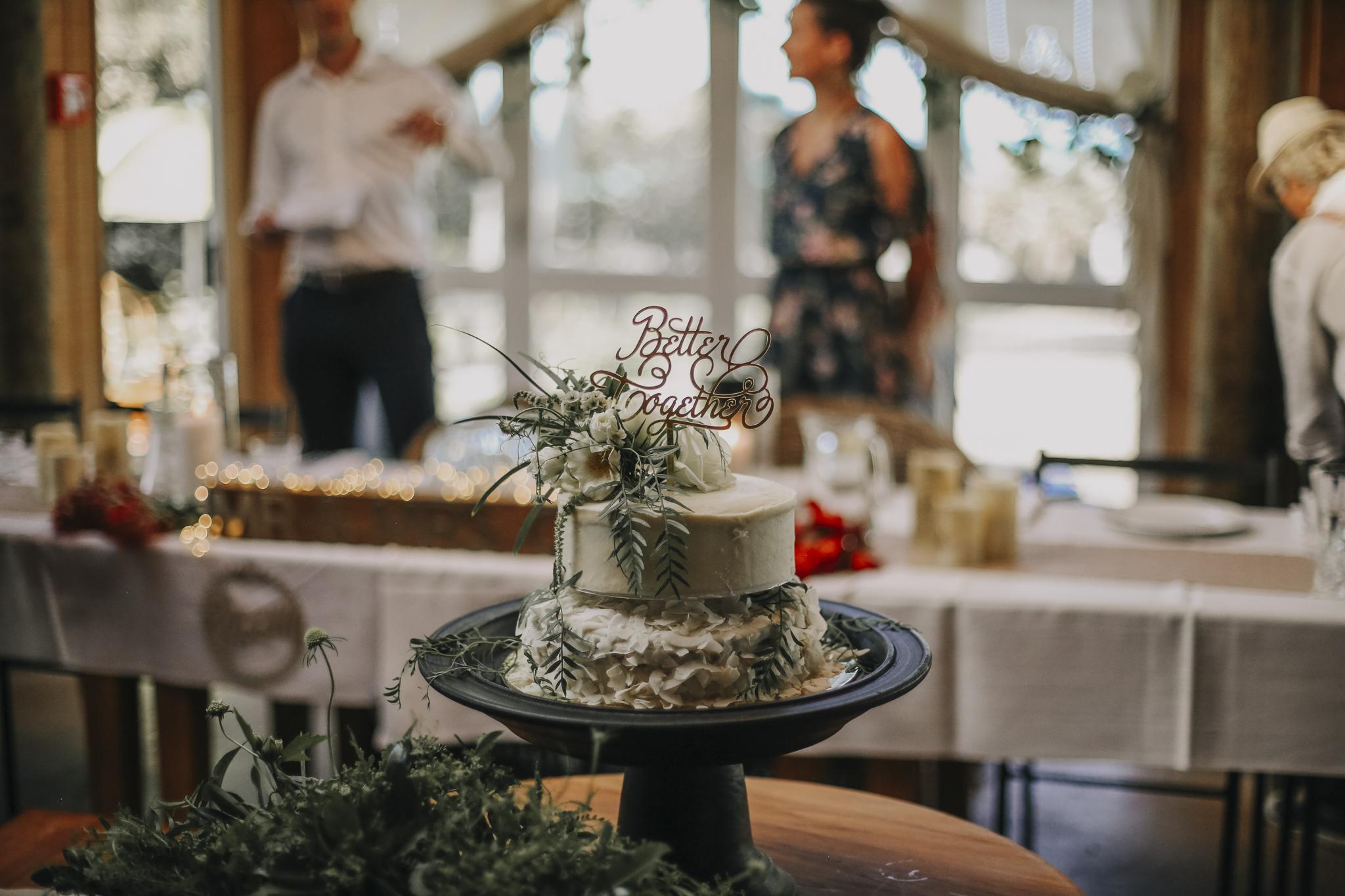 Newlyweds cake
