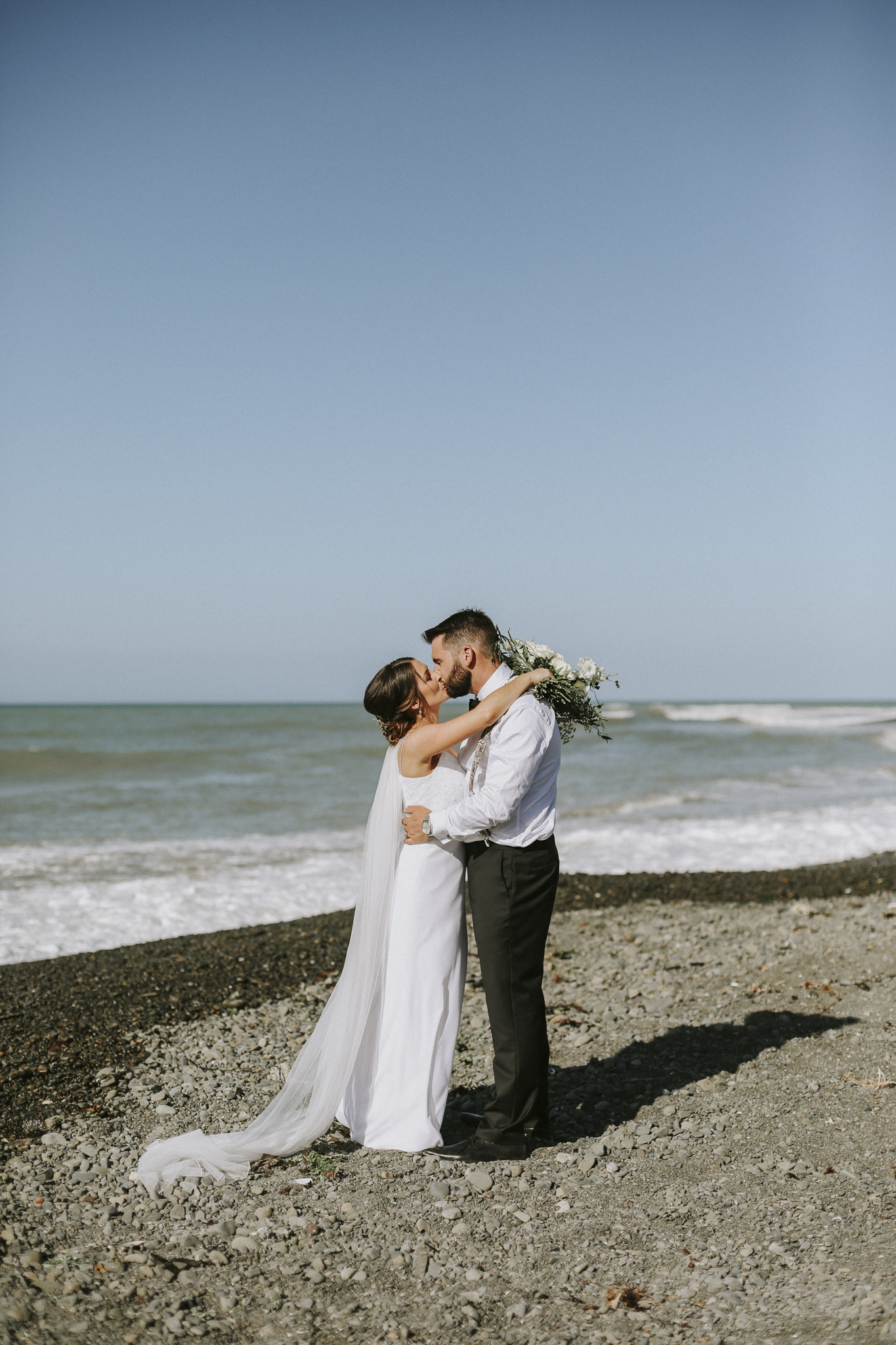 Married next to the ocean
