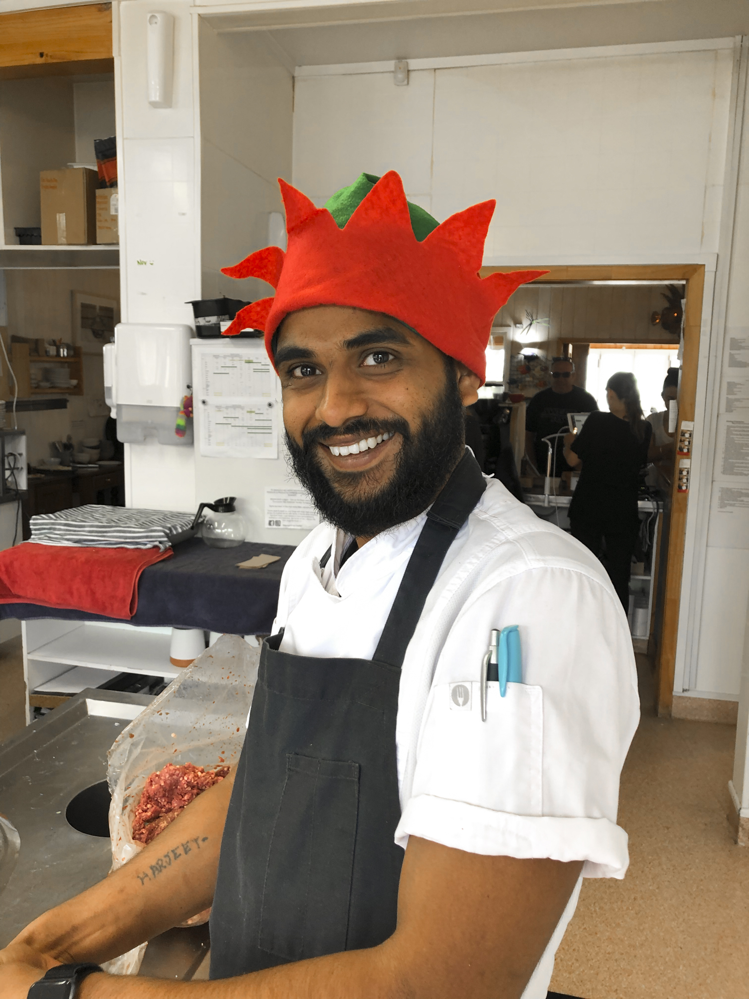Our chefs love christmas
