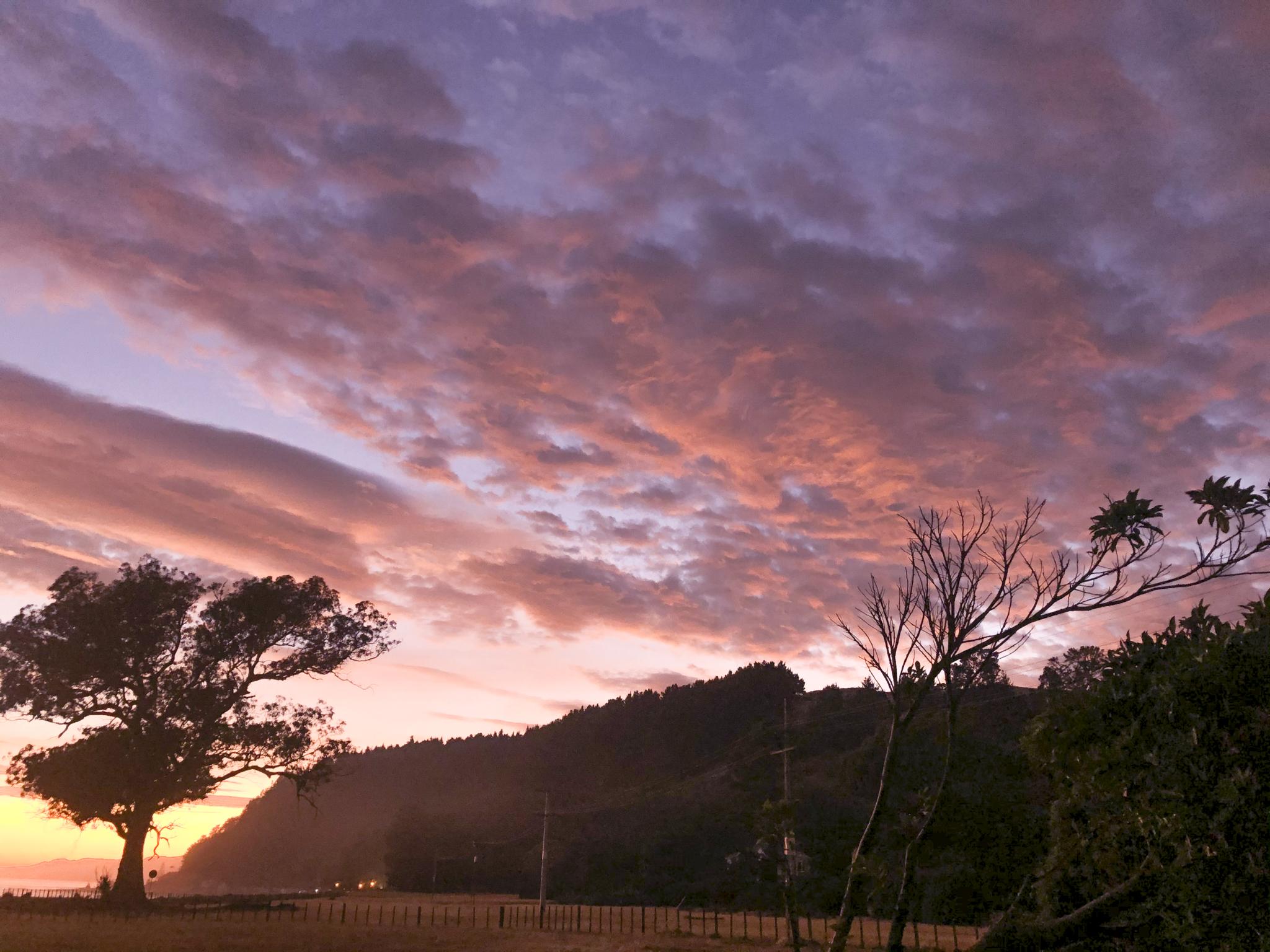 Dawn clouds 1
