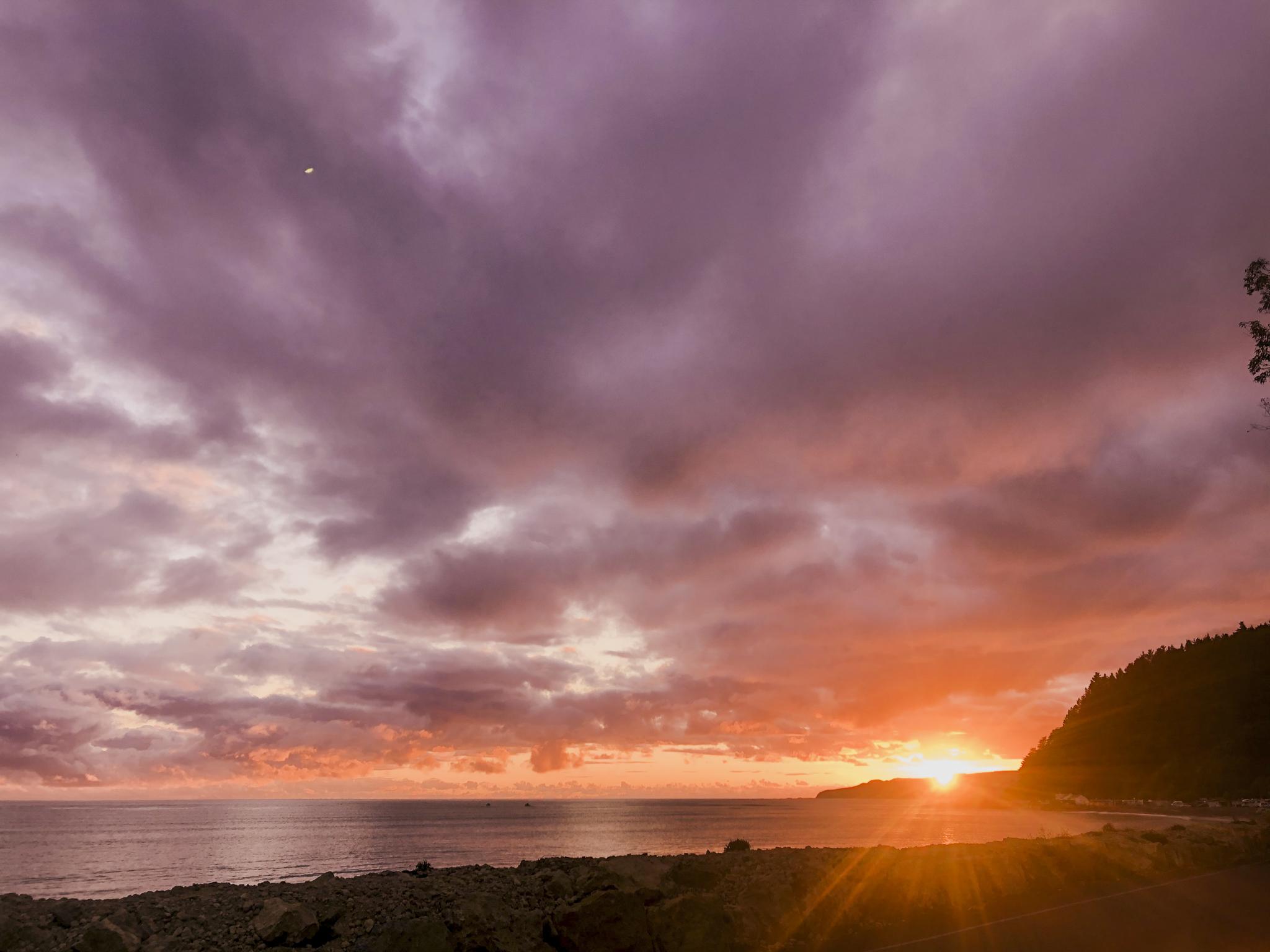 Dawn clouds 2