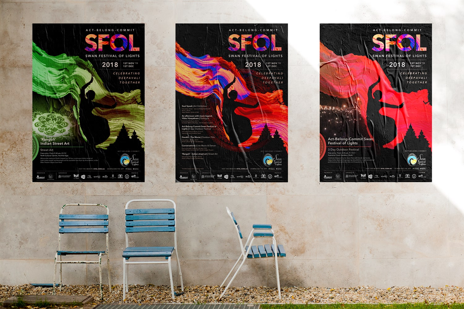 Flametree Creative produces promotional material for events all over Perth. We offer high quality Graphic Design Service to Perth area.
