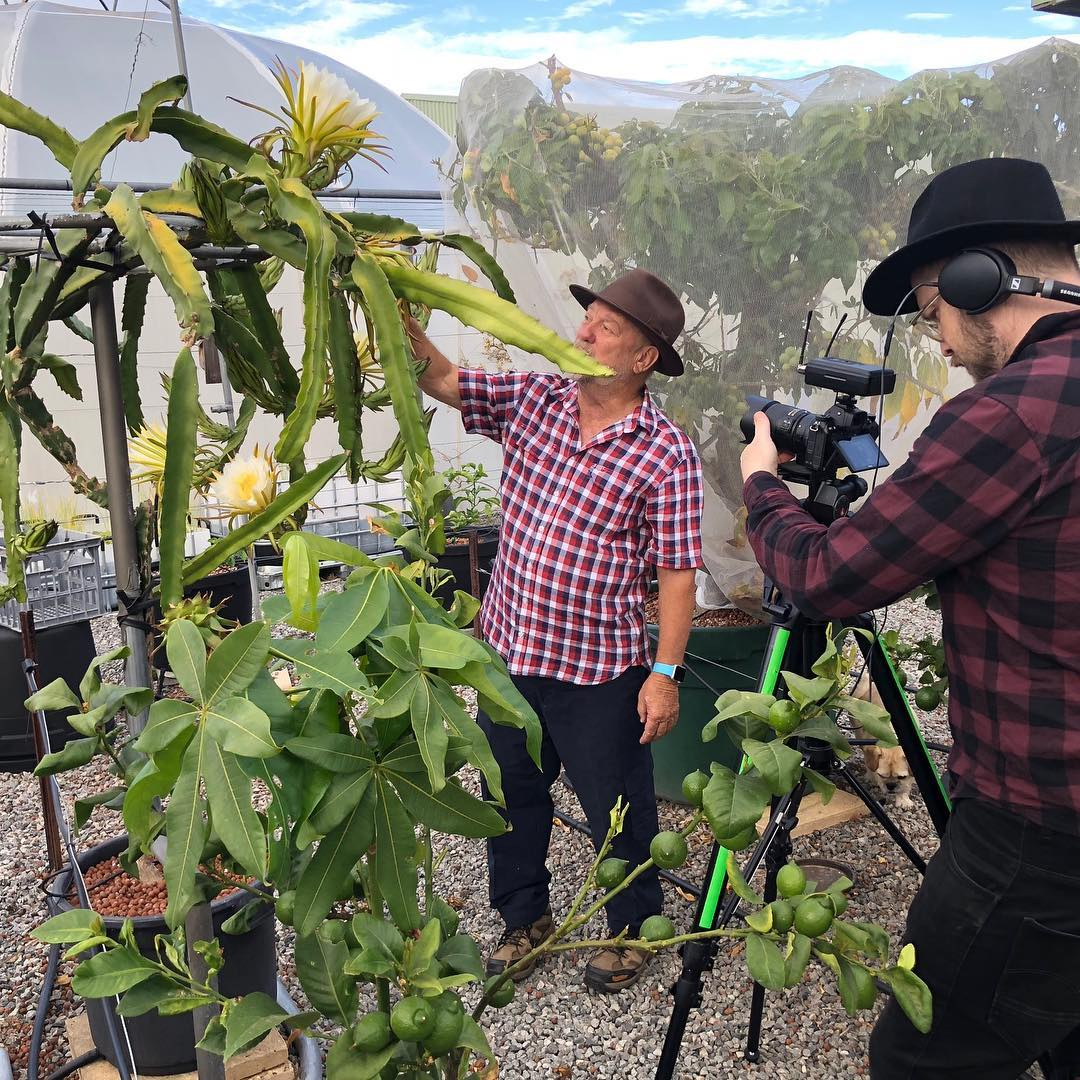 Flameetree Creative out in the field, shooting a video for Baileys Social Media Campaign