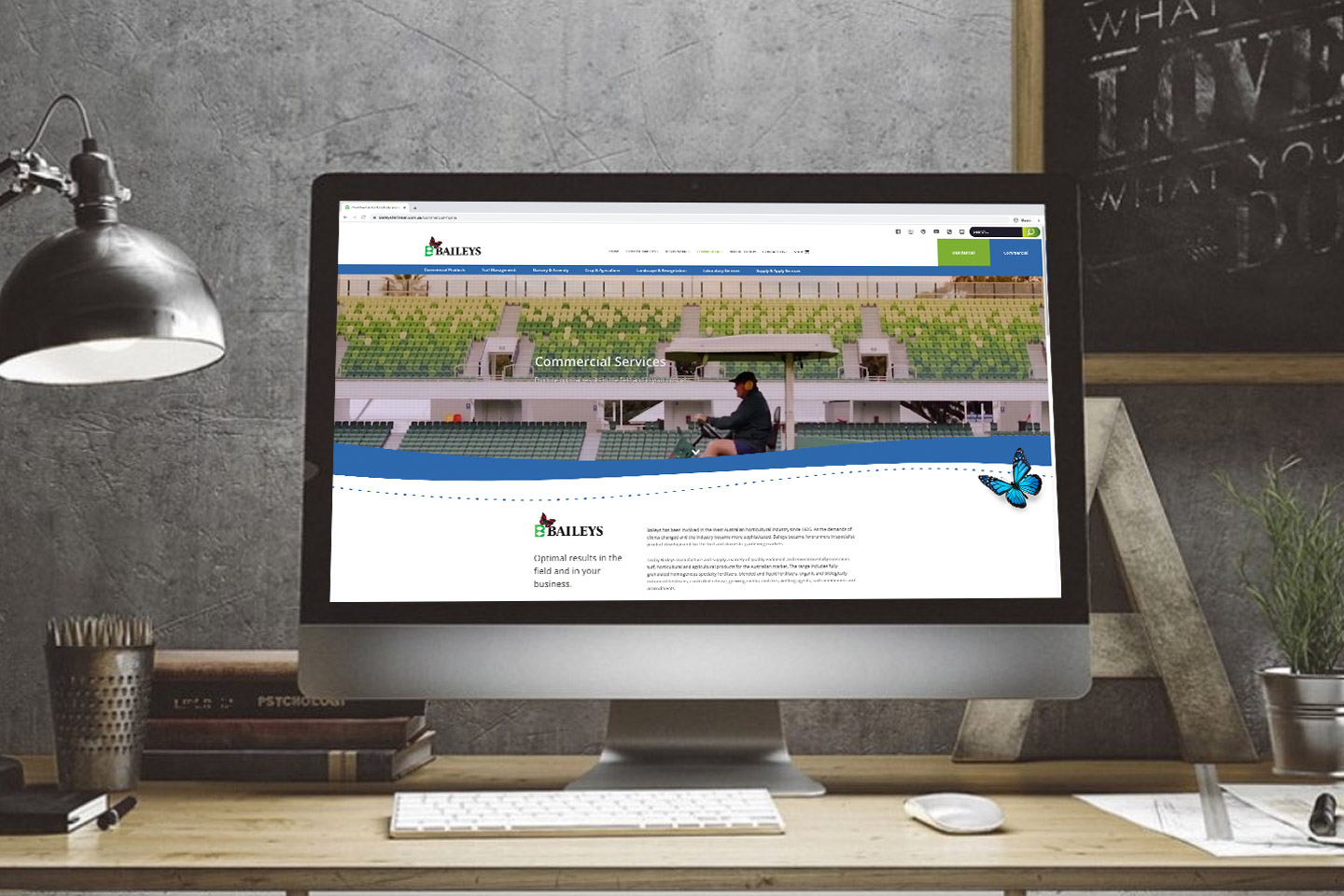 Baileys Fertiliser Website Design