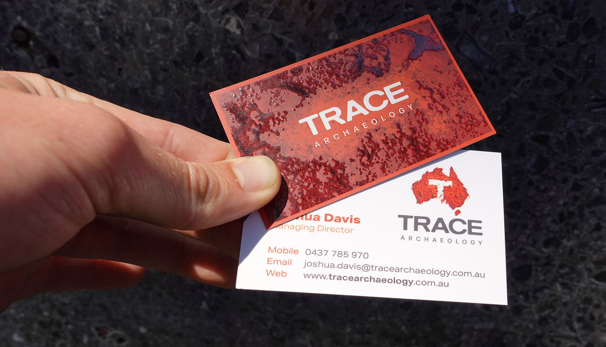 Trace Archaeology Branding