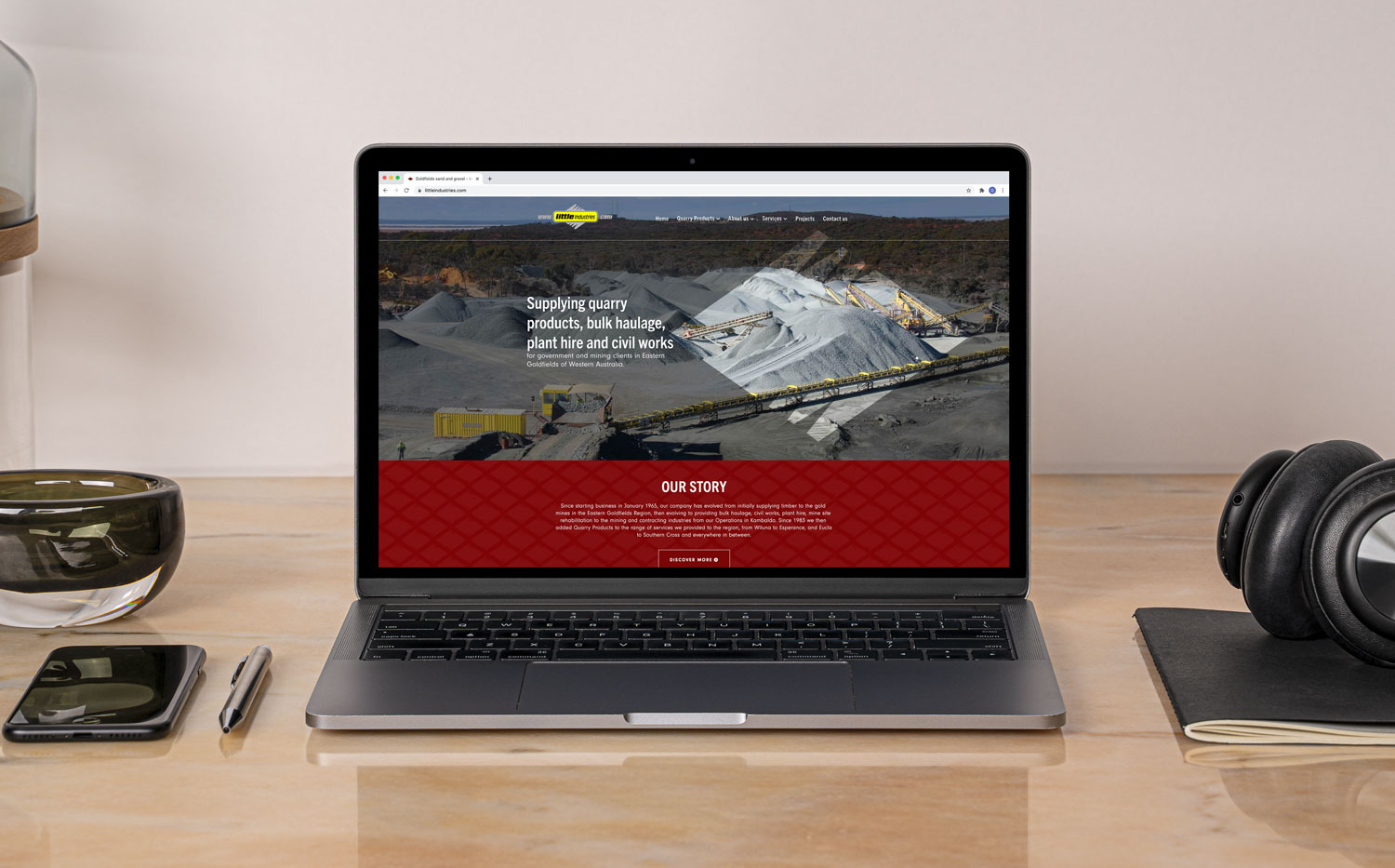 Little Industries Website