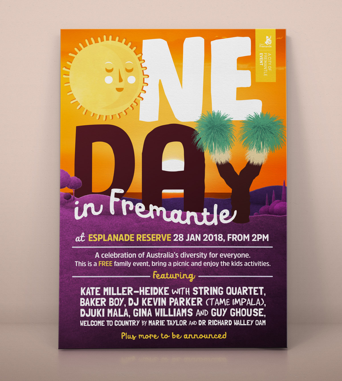 Event Branding for One Day in Fremantle