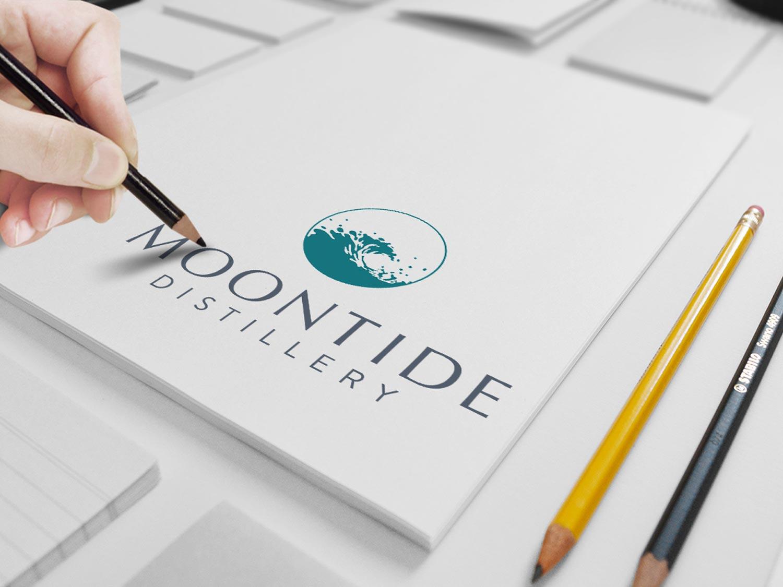 Moontide Distillery Branding