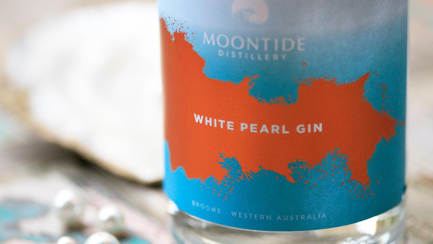 Branding a gin company based in Broome, Moontide Distillery