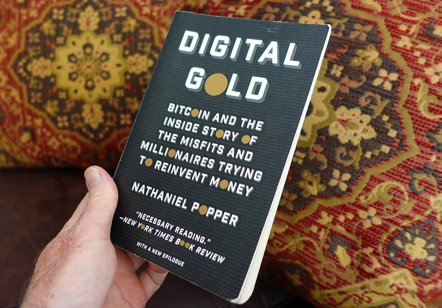 What we're reading : Digital Gold - by Nathaniel Popper