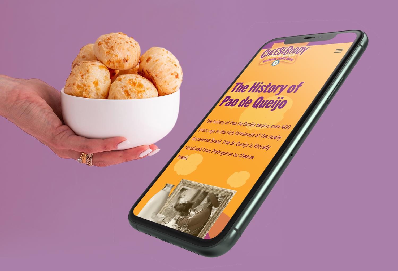 Cheesebuddy Website Design