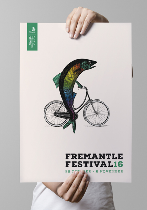 Event Branding and printed Materials - Fremantle Festival