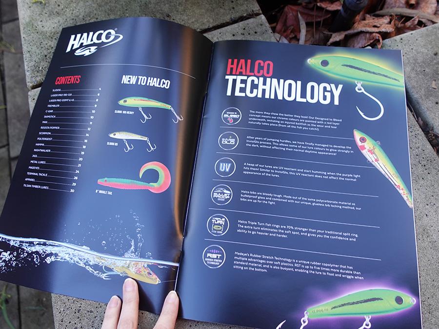 Halco Catalogue Content Page