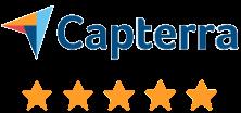 Capterra 4.5 star review social proof