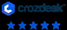 Crozdesk 4.5 star review social proof