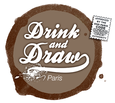 Drink n Draw Logo