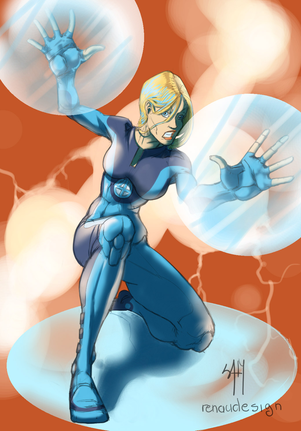 DND Live : Invisible Woman from the Fantastic Four