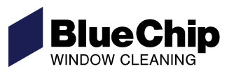 blue chip window cleaning logo