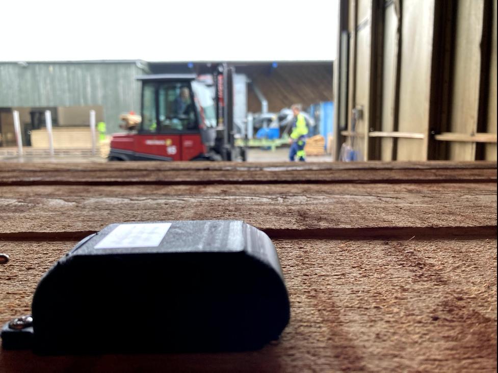 intelligent sensor byggeplads Woodsense