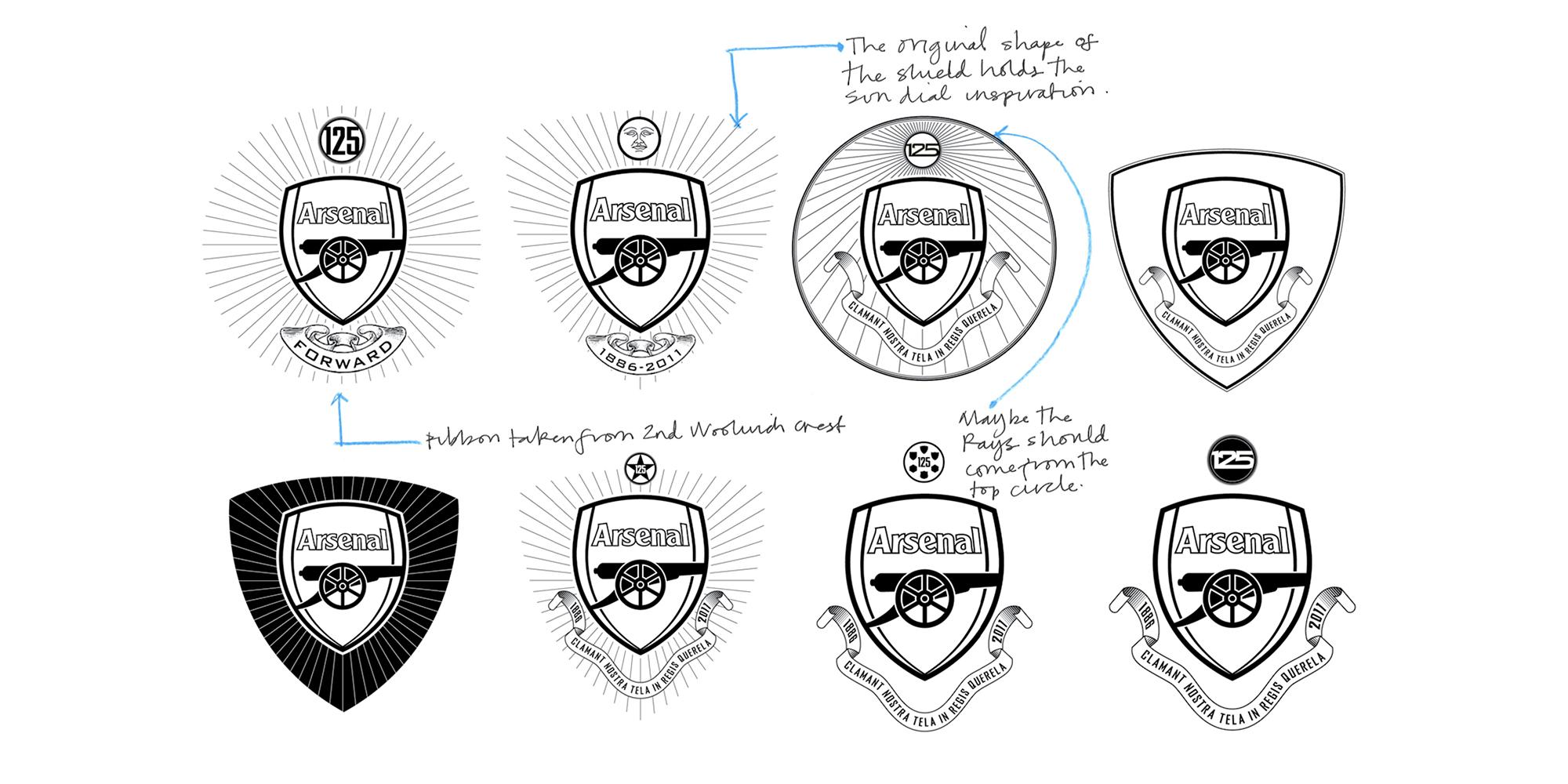 Arsenal Brand 125 Year Concept Design