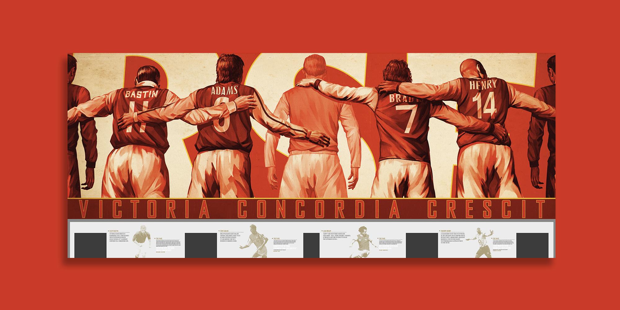 Emirates Stadium Exterior Branding