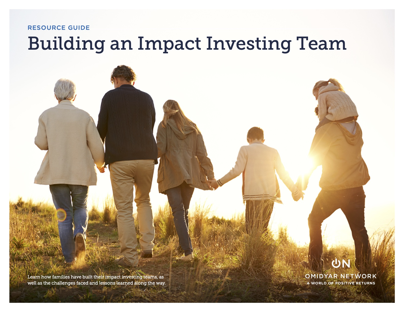 Building an Impact Investing Team by by Omidyar Network
