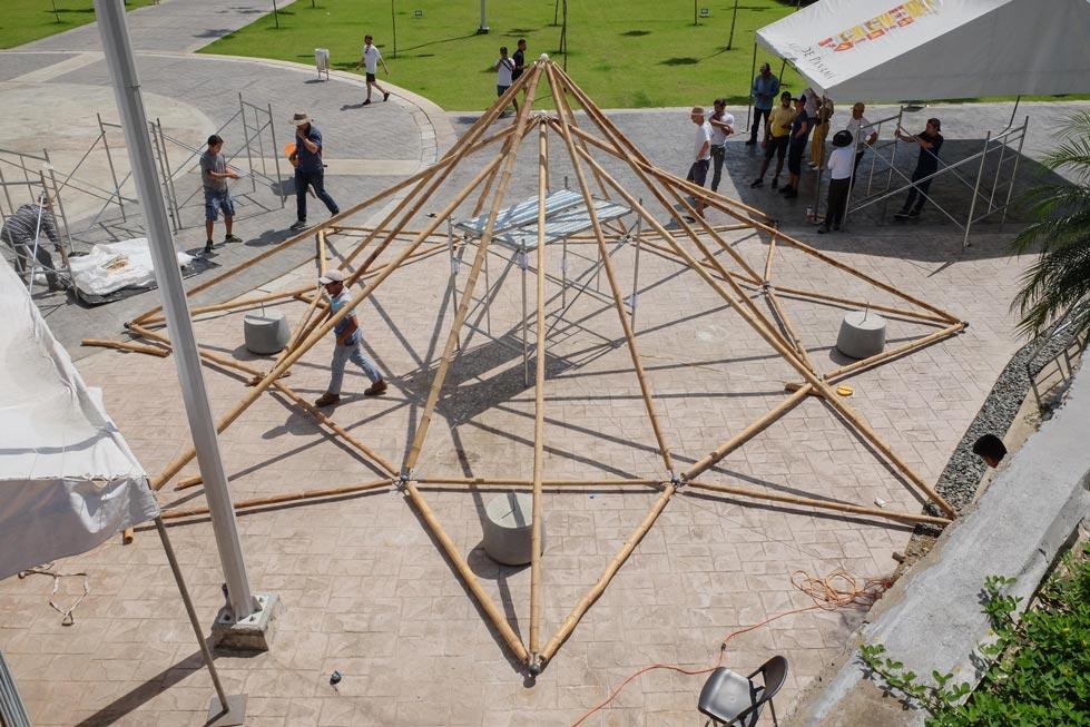 Spaceframe Pavilion Panama
