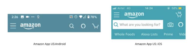 Amazon US App with Alexa Logo