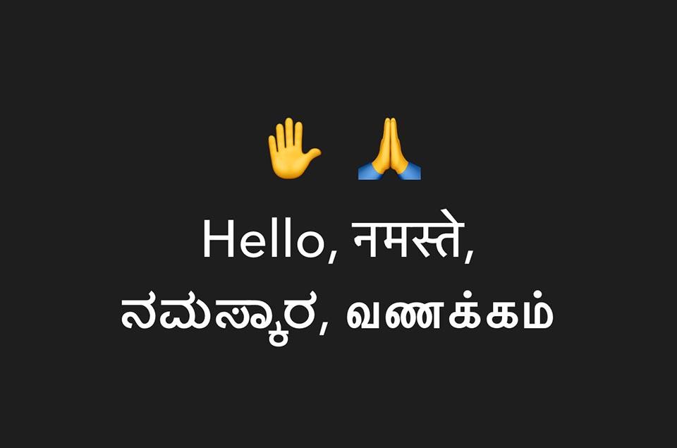Hello Namaste