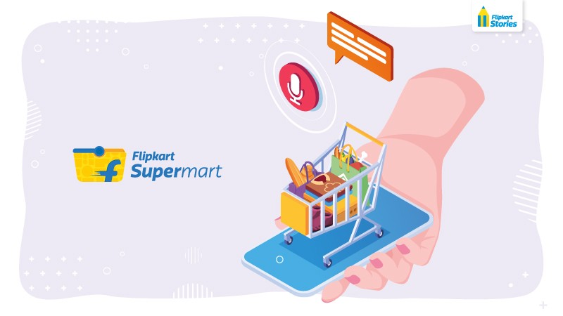 Flipkart Launched in-app Voice Assistant for their Grocery Section