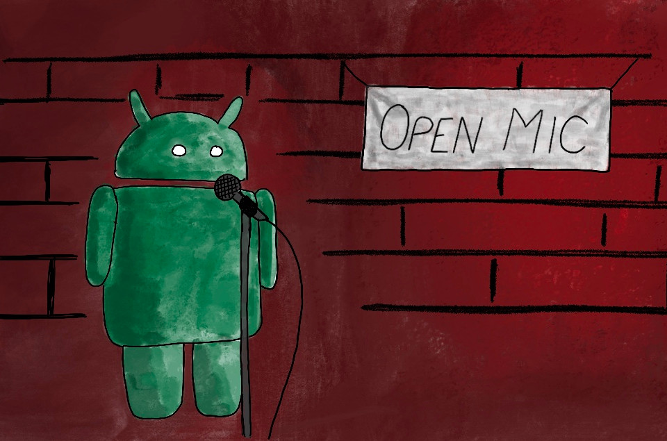 Add voice commands to android applications