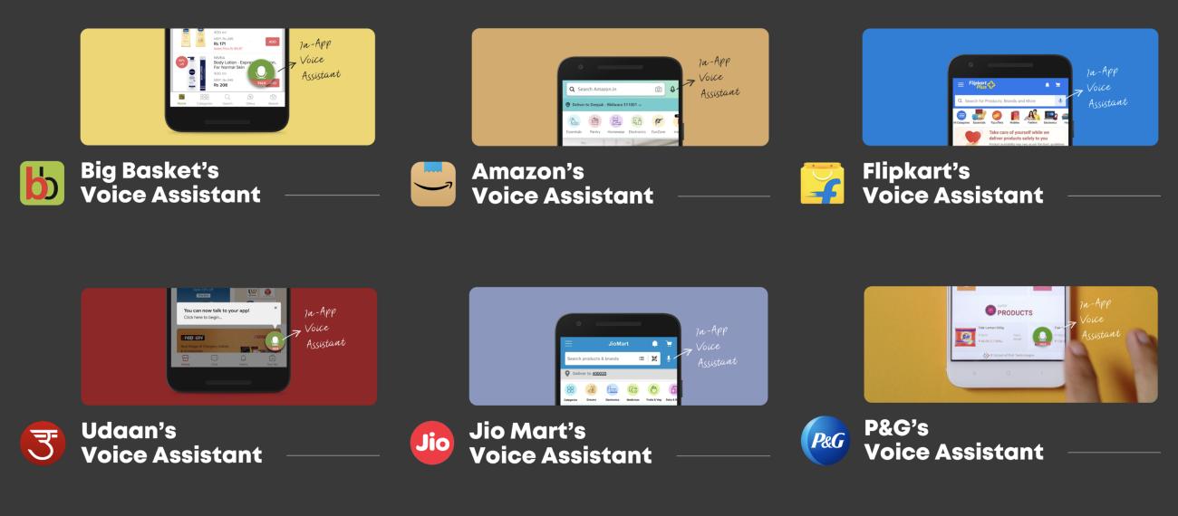 In-App Voice Assistants inside E-Commerce brands
