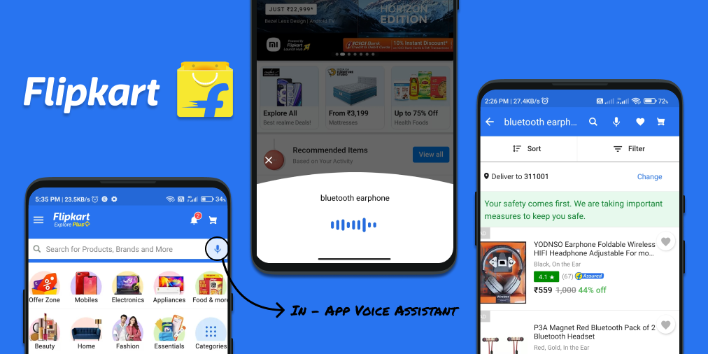 Flipkart Voice Assistant Analysis by Slang Labs