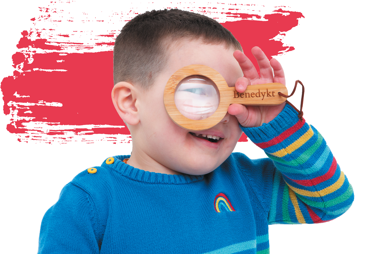 Feature Image - Benedykt with Magnifying Glass