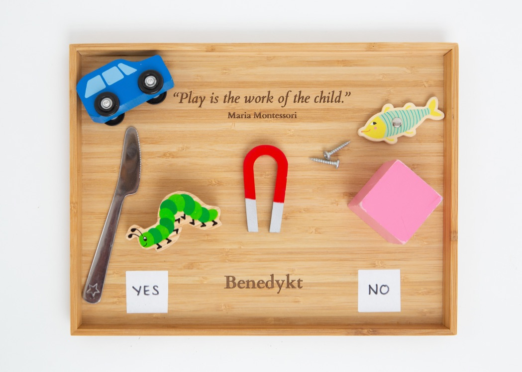Bamboo Play Trays
