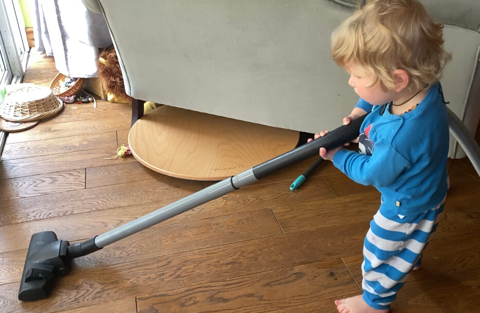 Montessori at Home - Cleaning