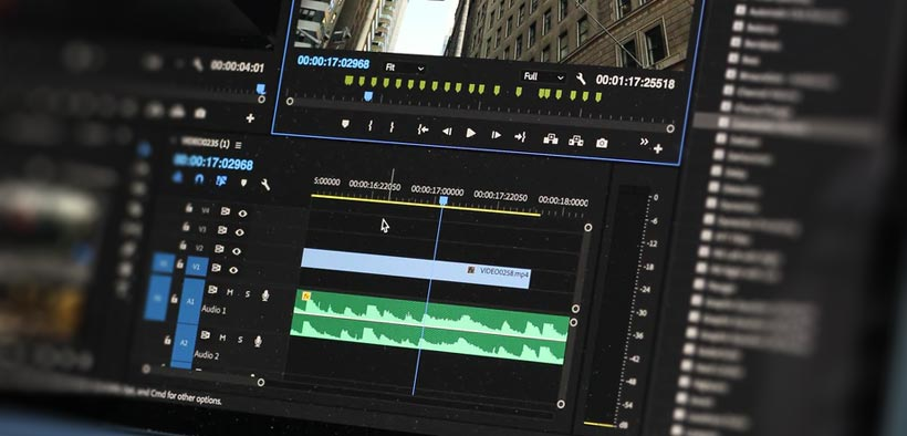 Video Production: Editing Timeline
