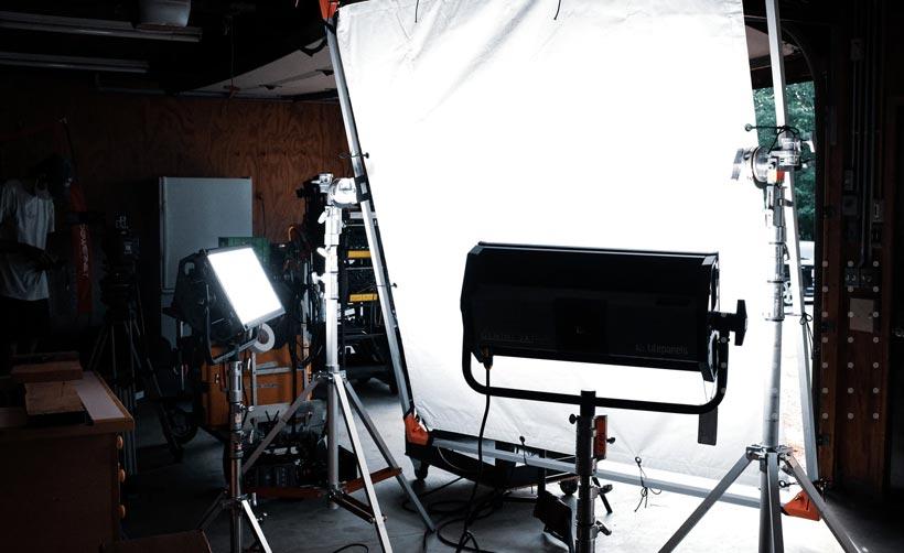 Studio Lighting Setup