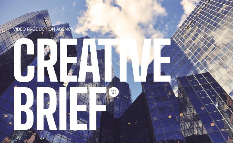Video Production Creative Brief