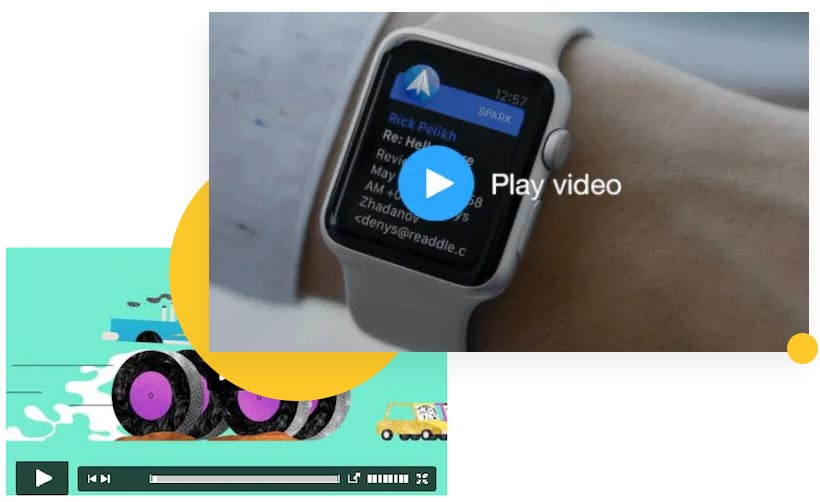 Video Email Thumbnails