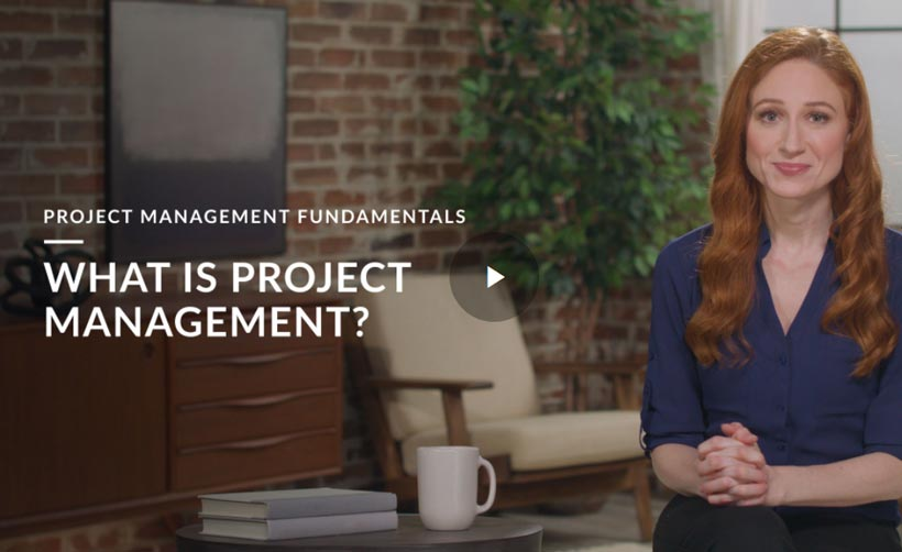 Start Course: What Is Project Management?
